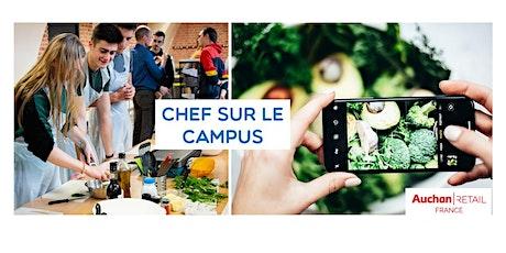 CHEF SUR LE CAMPUS en live sur YouTube - 15 avril billets