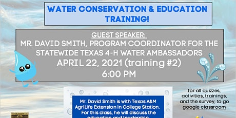 Water Project Training #2 tickets