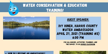 Water Project Training #3 tickets