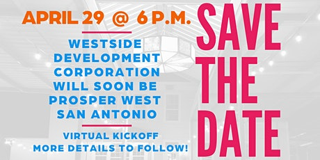 Prosper West San Antonio Virtual Kickoff! biglietti
