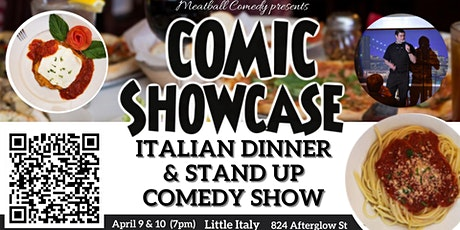 Dinner & Stand Up Comedy Show tickets