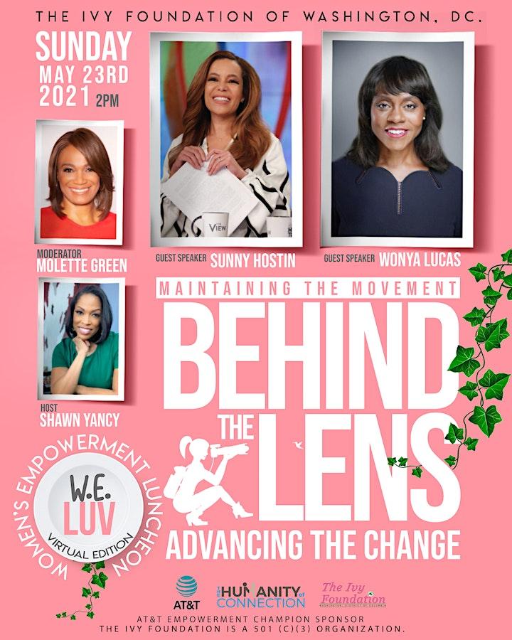 WE LUV - Women's Empowerment Luncheon Virtually - 2021 image