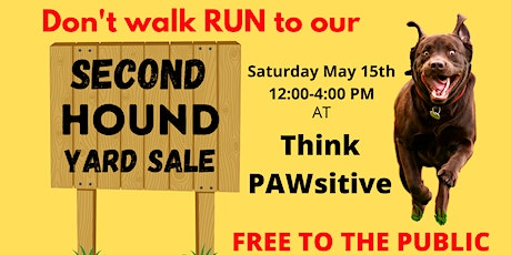 Second HOUND Yard Sale! tickets