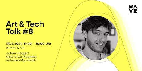 Art&Tech Talk #8 mit Julian Hölgert: Das Museum der Zukunft Tickets