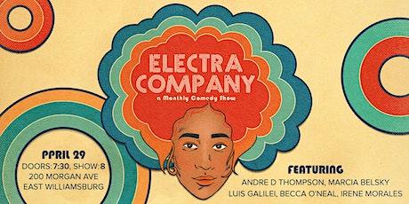 Electra Company: A Comedy Kickback tickets