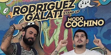 Rodriguez Galati - MODO COCHINO - Pacheco (18 de Abril, 21hs) entradas