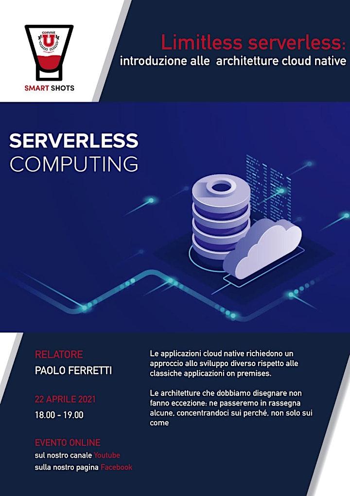 Immagine Limitless serverless, introduzione alle architetture cloud native
