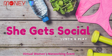 She Gets Social (Lunch & Play) in partnership with Virgin Money tickets