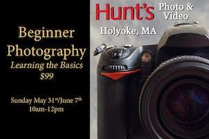 Beginner Photography- Holyoke Only
