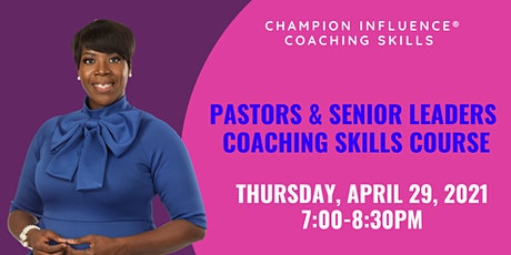 2021 Virtual Coaching Skills Course for Pastors & Senior Leaders tickets