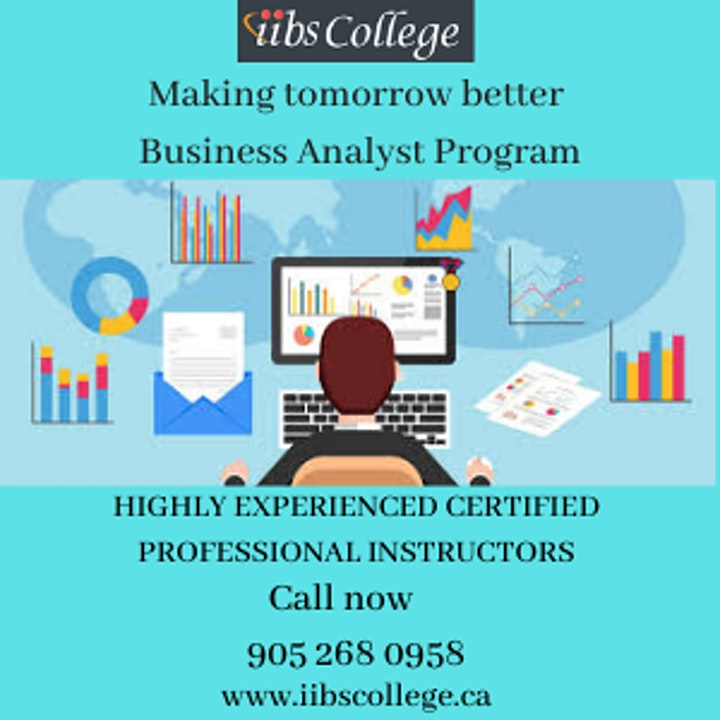 ECBA - Business Analyst Training- Making tomorrow better image