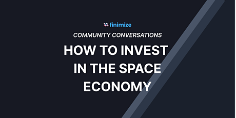 Space: The Final Investment Frontier billets