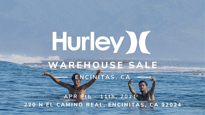 Hurley Warehouse Sale - Encinitas, CA image