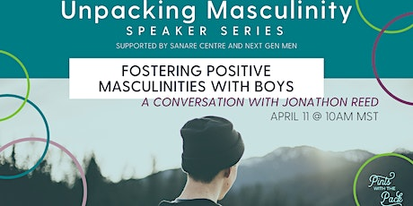 Fostering Positive Masculinities with Boys: A Conversation with J. Reed tickets