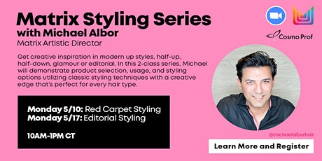 Matrix Styling Series - 2 Day Virtual Event  5.10.21 & 5.17.21 tickets