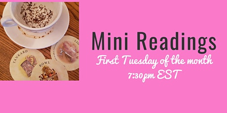 Mini Readings by Cathy Tea Leaf Reader tickets