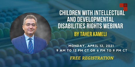 Children with intellectual and developmental disabilities rights - Webinar tickets