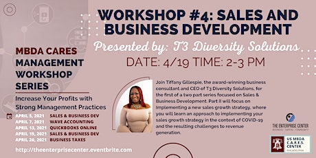 Business Management Workshop #4: Sales & Business Development tickets