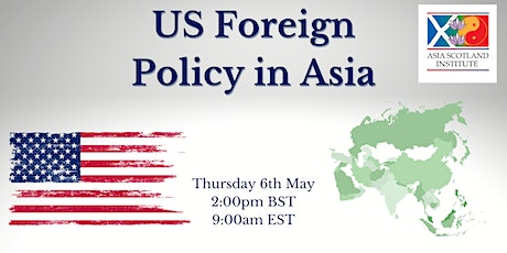 US Foreign Policy in Asia tickets