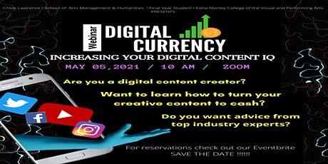 Digital Currency: Increasing your Digital Content IQ tickets