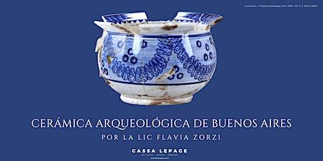 Curso: Cerámica arqueológica de Buenos Aires entradas