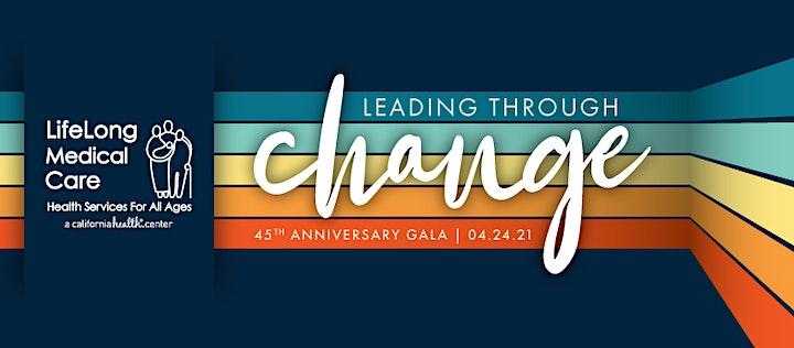 LifeLong Medical Care's 45th Anniversary Gala image