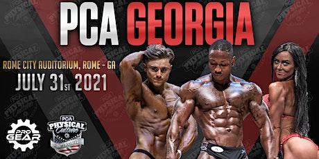 PCA Georgia 2021 tickets