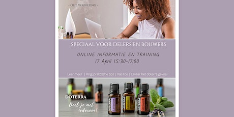 Delers en bouwerstraining - 17 april 2021 tickets