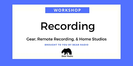 Digital Workshop: Podcast Recording tickets