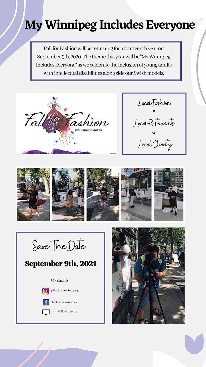 Fall for Fashion 2021 ~ My Winnipeg Includes Everyone! image