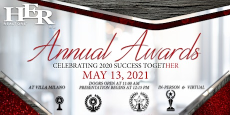 Annual Awards Banquet - In-Person Event tickets