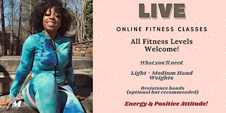 Live Be Your Own B.A.W.D.Y  Goals Fitness Bootcamp tickets