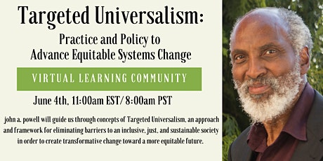 Learning Community on Targeted Universalism Tickets