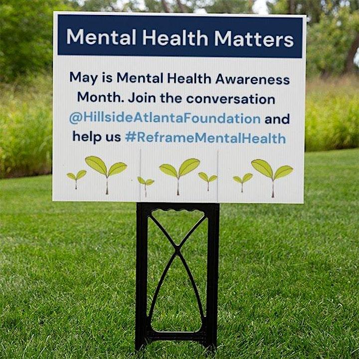 Reframe Mental Health- Yard Signs! image