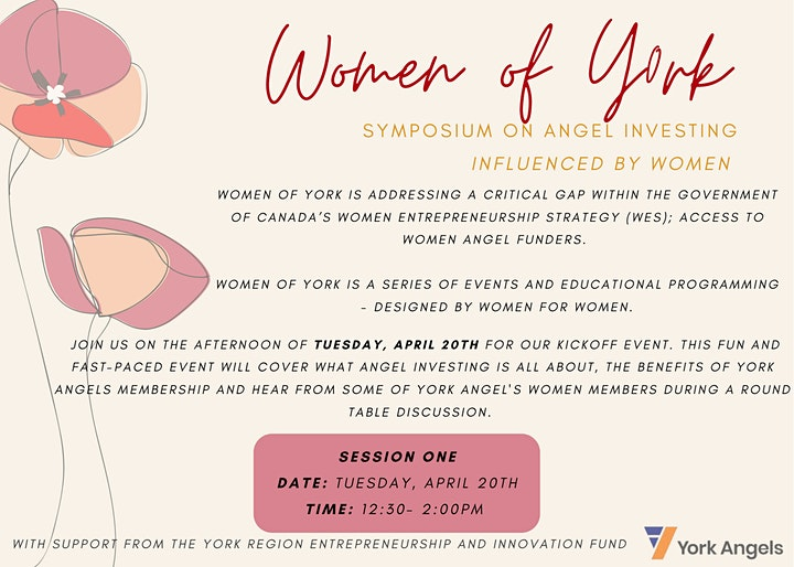 WOMEN OF YORK: SESSION ONE image