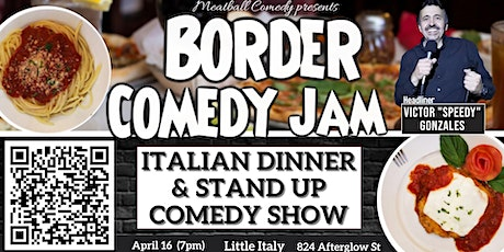 Dinner & Comedy Show featuring: Border Comedy Jam tickets