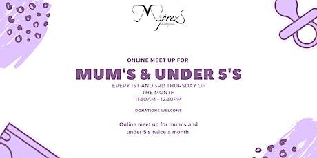 Derby Mum's and Under 5s Online Meet Ups tickets