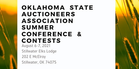 2021 Oklahoma State Auctioneers Summer Sponsorship Opportunities tickets