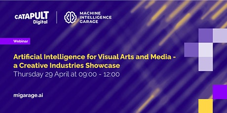 AI for Visual Arts & Media - a Creative Industries Showcase tickets