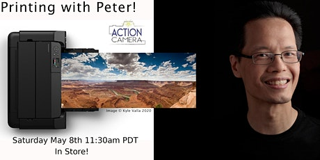 Printing with Peter - Canon PRO-300 - Live In Store! tickets