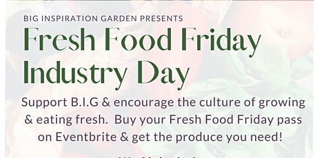 Fresh Food Industry Day tickets