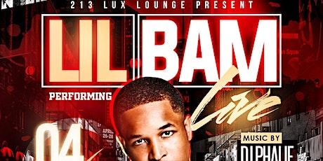 LIL BAM LIVE tickets