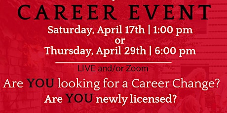 Career Event tickets