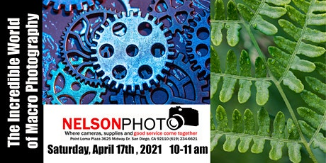 The Incredible World of Macro Photography with Canon's Cassandra Caldwell tickets