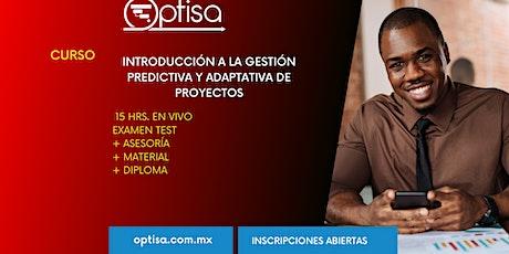 Curso Introducción a la Gestión Predictiva y Adaptativa de Proyectos entradas