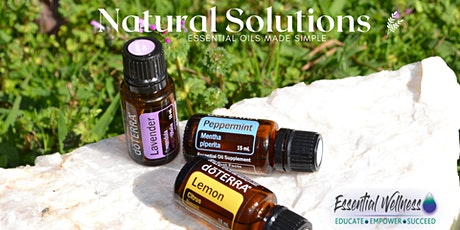 Natural Solutions - Essential Oils Made Easy tickets