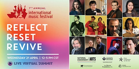 INTERNATIONAL MUSIC FESTIVAL - Reflect. Reset. Revive. tickets