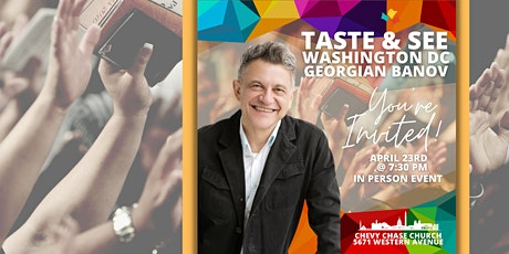 Taste and See, Washington DC tickets