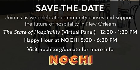 GiveNOLA Day Hospitality Panel & Happy Hour tickets