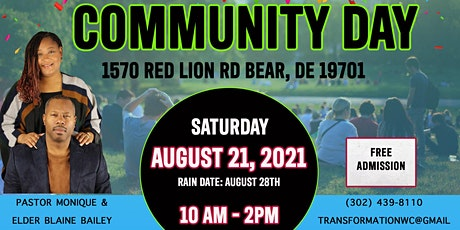Community Day Vendors tickets